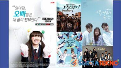 Drama korea bertema sekolah bikin kangen masa sekolah