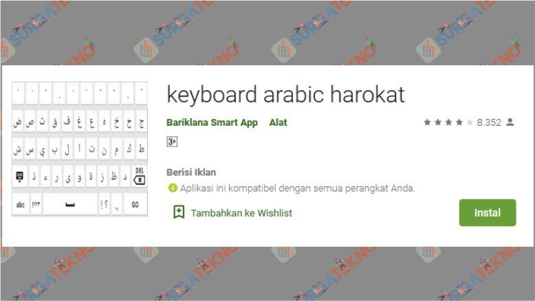 Keyboard Arabic Harokat