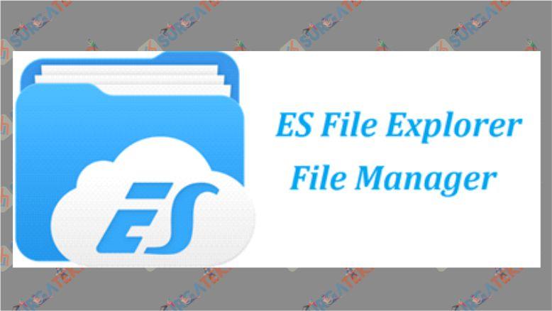 Kirim File APK dengan ES File Explorer