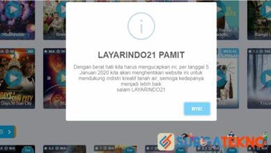 Photo of Menyusul IndoXXI, LayarIndo21 akan Segera Ditutup!