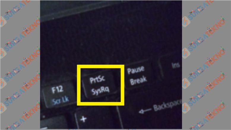 Tombol PrtSc Laptop Asus