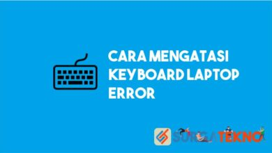 cara mengatasi keyboard laptop error