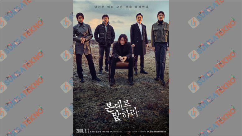Drama Korea Detektif - Tell Me What You Saw