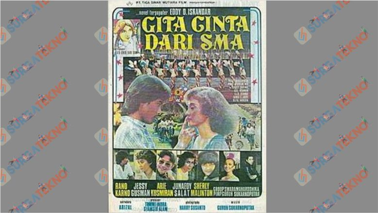 Film Jadul Indonesia Romantis - Gita Cinta dari SMA
