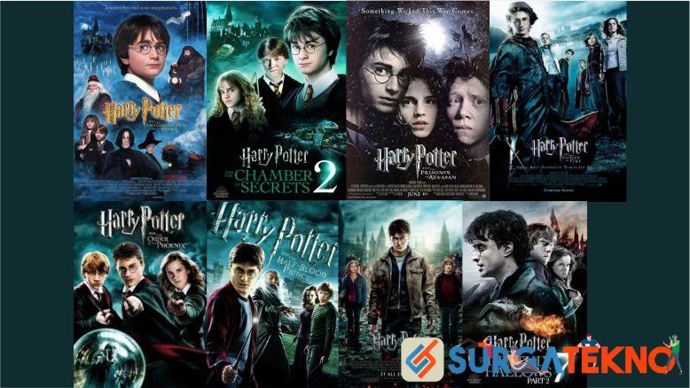 Judul Urutan Film Harry Potter dari Awal sampai Akhir