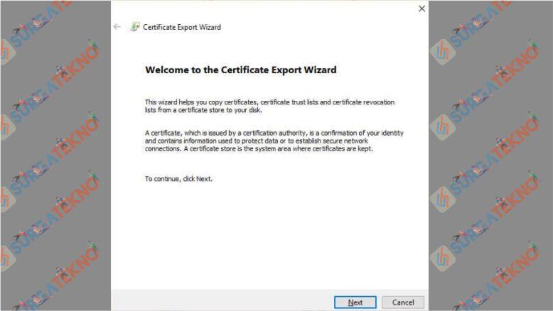 Klik Next untuk Melanjutkan Backup Folder yang Terkunci