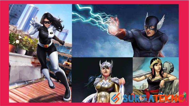 Super Hero Asli Indonesia