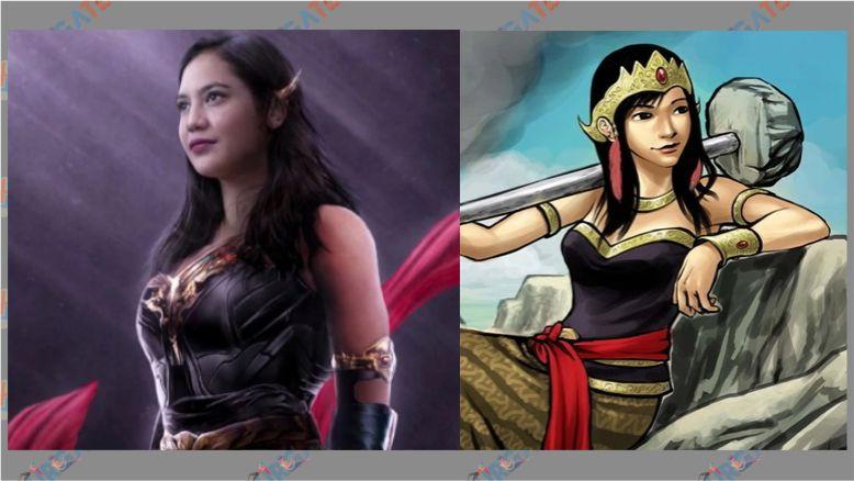 Super Hero Wanita Indonesia - Sri Asih