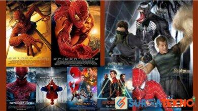 Urutan Film Spiderman