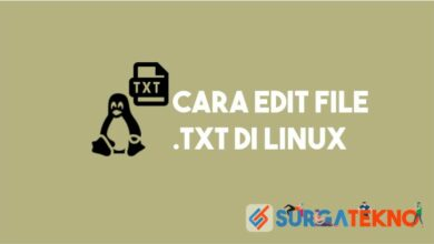 cara edit file txt di linux