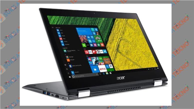 Bikin Desain, Pakai Acer Spin 5 SP513 52N i5 8250U Aja