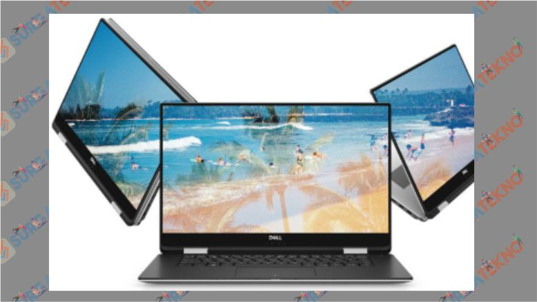 Dell XPS 15-9575 Core i7-8705G - Laptop Dell Terbaik untuk Desain Grafis