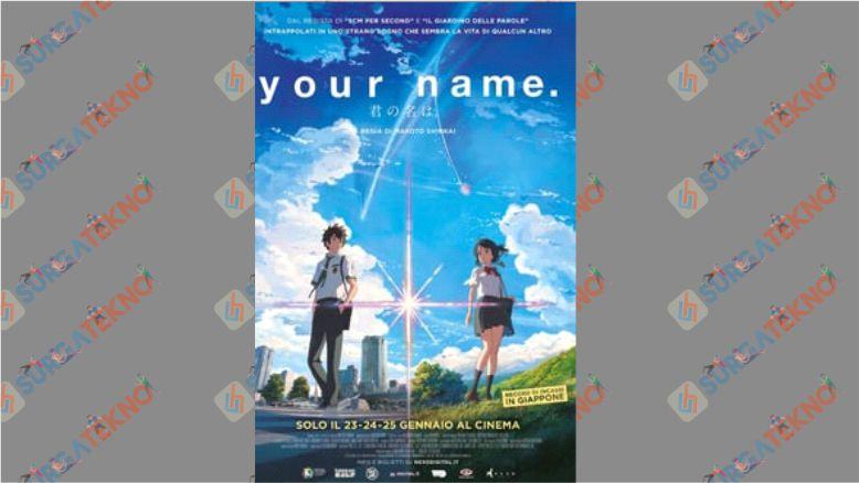 Film Animasi Kimi No Na Wa (2016)