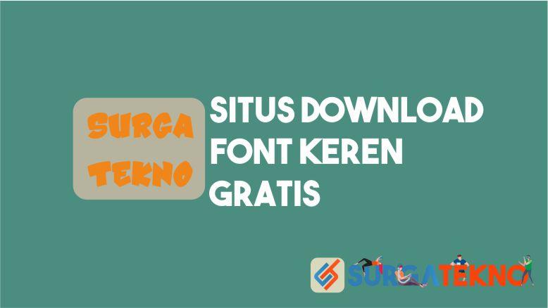 Situs Download Font Keren Gratis
