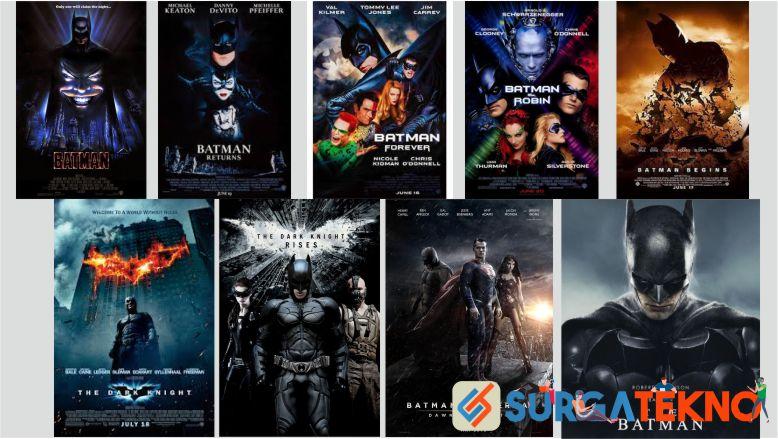 Urutan Film Batman Terlengkap