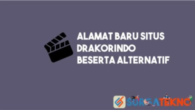 Photo of Alamat Baru Drakorindo dan Alternatif