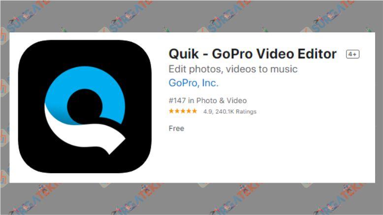 Aplikasi Edit Video iPhone - Quik - GoPro Video Editor