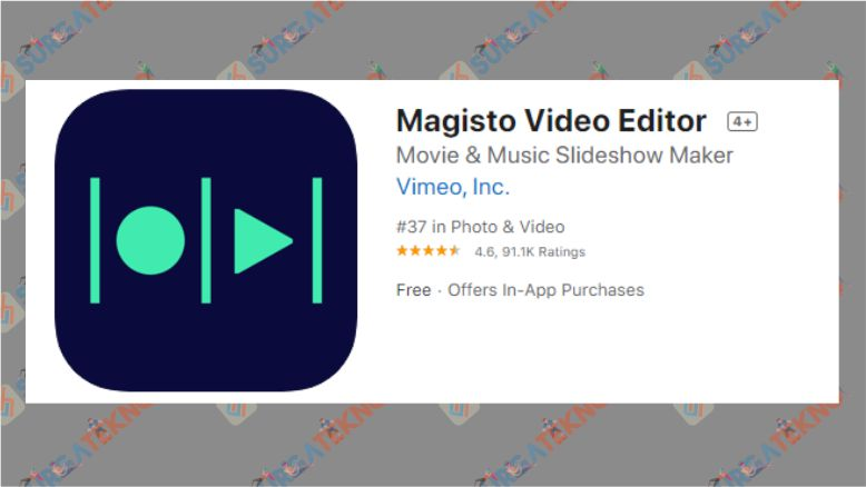 Aplikasi Magisto Video Editor