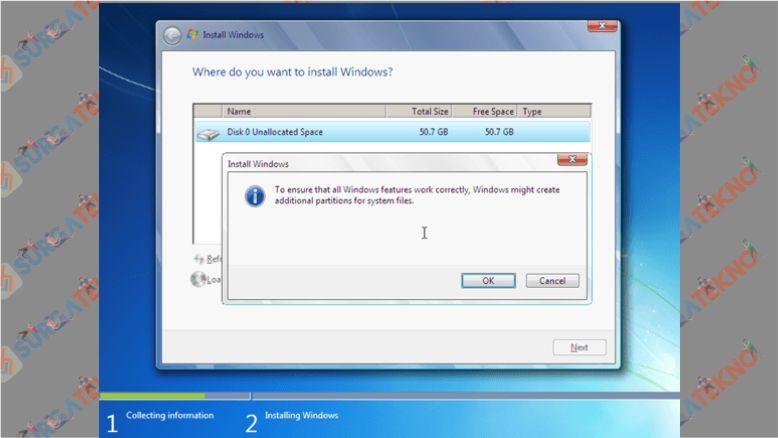 Atur Ruang Harddisk Sesuai Kebutuhanmu di Windows 7