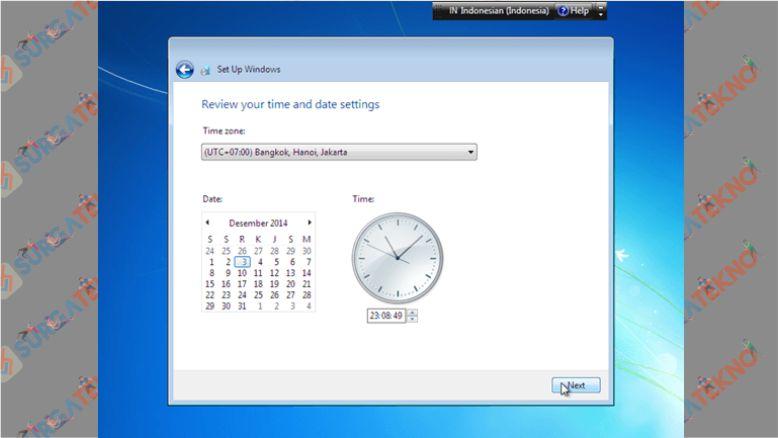 Atur Zona Waktu Windows 7 Sesuai Daerah Kalian