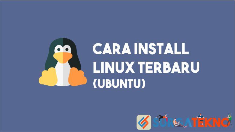 Cara Install Linux Ubuntu