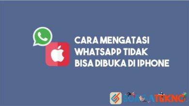 Photo of 4 Cara Mengatasi WhatsApp Tidak Bisa Dibuka di iPhone