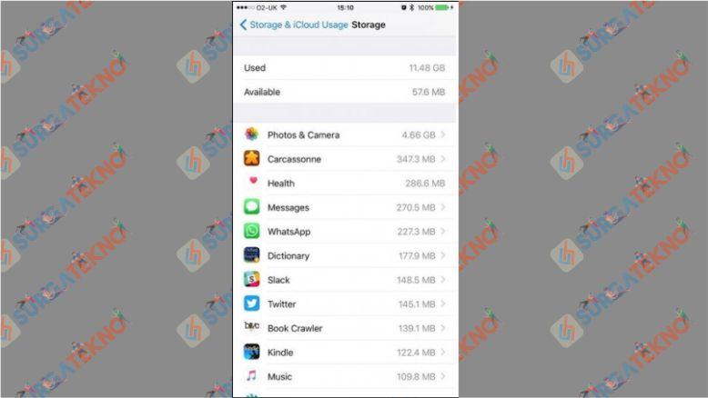 Clear Cache Aplikasi WhatsApp di iPhone