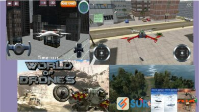 Photo of 11 Game Simulator Drone Android