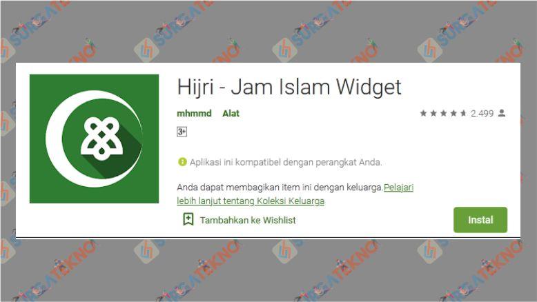 Hijri – Jam Islam Widget