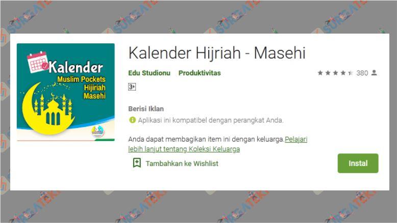 Kalender Hijriah – Masehi