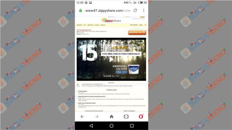 Klik Download untuk Memulai Pengunduhan File Drama Korea