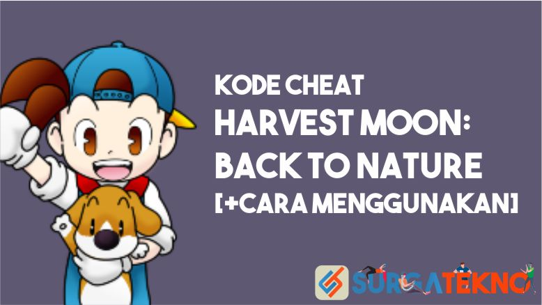 Kode Cheat Harvest Moon Back to Nature