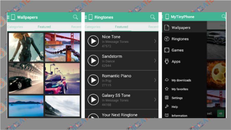 MTP - Ringtones & Wallpapers - Aplikasi untuk Nada Dering Android