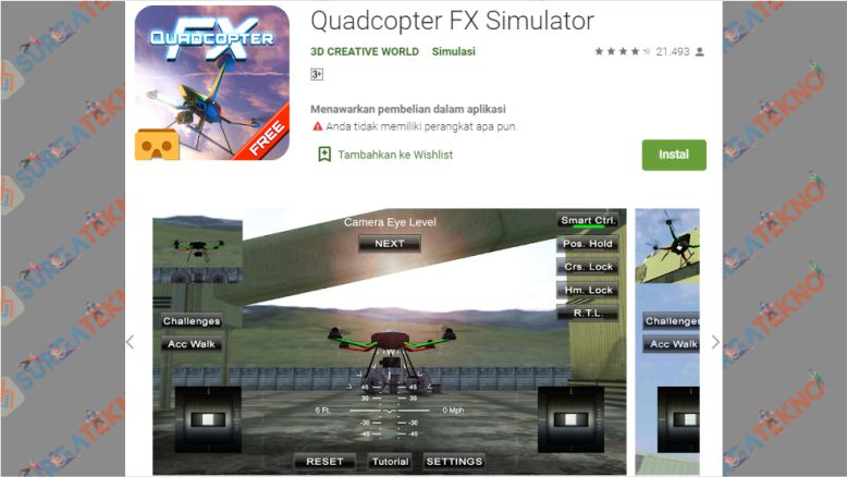 Quadcopter FX Simulator