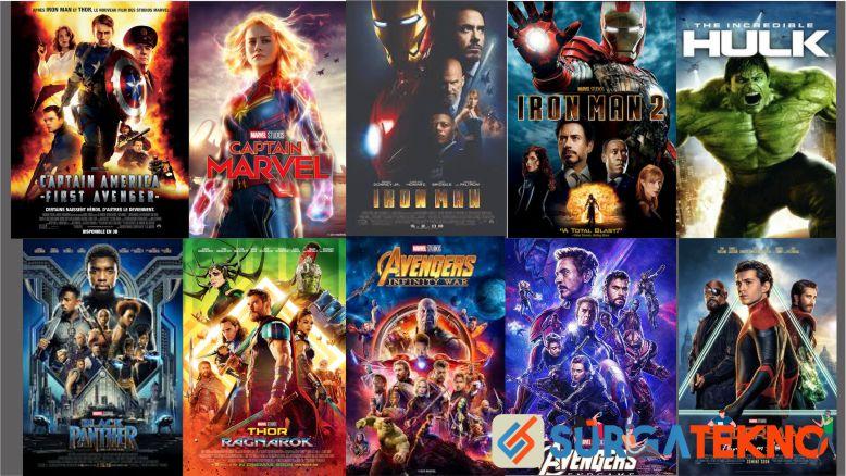 Urutan Film Marvel