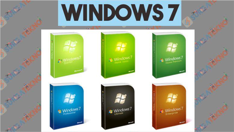 Versi Windows 7