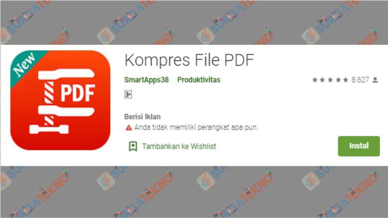 Aplikasi Kompres File PDF
