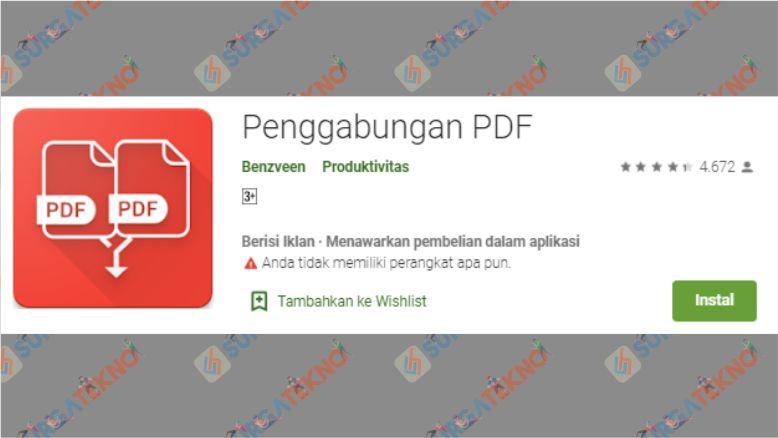 Aplikasi Penggabungan PDF