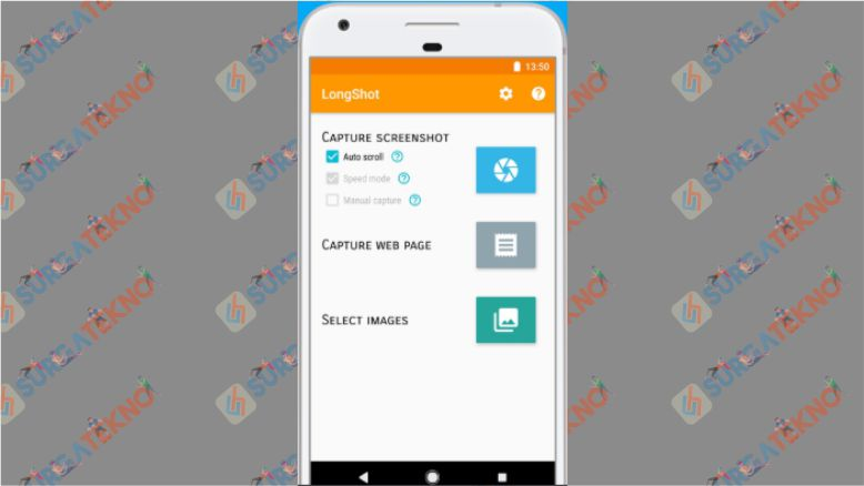 Aplikasi Screenshot LongShot Android