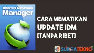 Photo of Cara Mudah Mematikan Update IDM [Anti Ribet]
