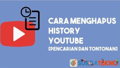 Cara Menghapus History Pencarian dan Tontonan YouTube