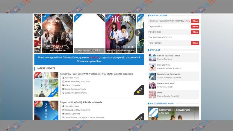 Download Drama Jepang di Doramaku