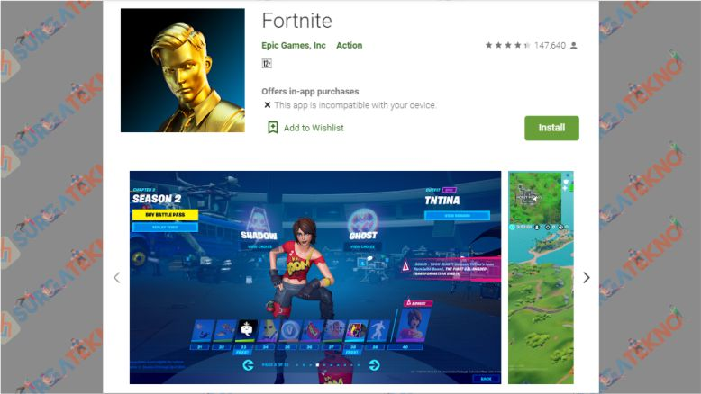 Fortnite Sudah Tersedia di Google Playstore