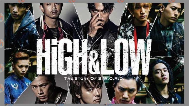 High and Low - The Story of S.W.O.R.D (2015)