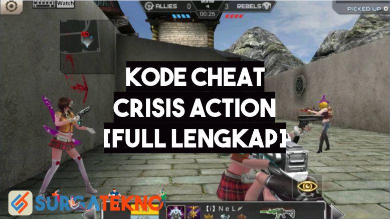 Kode Cheat Crisis Action