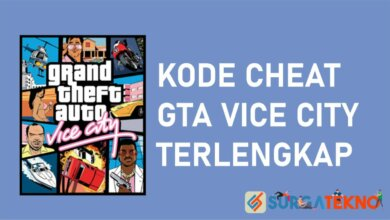 Kode Cheat GTA Vice City