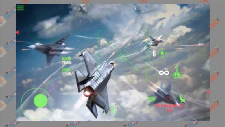 Modern Warplanes Game Shooter PvP Jet Tempur