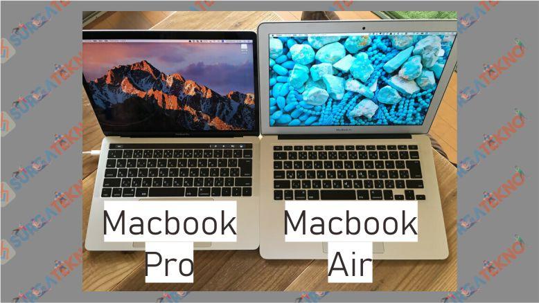 Perbedaan Kualitas Layar Macbook Pro dan Air