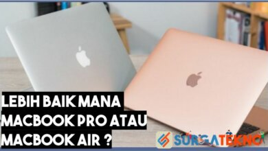 Perbedaan Macbook Pro dan Macbook Air