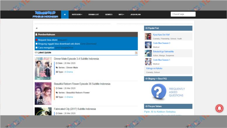Situs Download Drama Jepang - Doramaindo